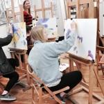 Rysunek na warsztatach artystycznych