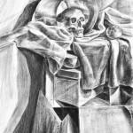 Rysunek z zajęć kursu rysunku i malarstwa