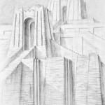 Ziggurat - Rysunek Architektury