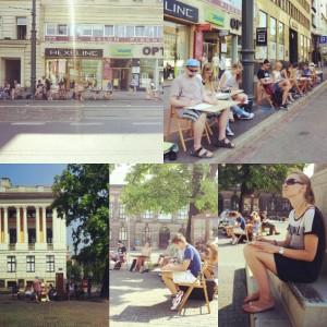 Plener rysunkowy w Poznaniu