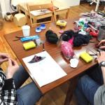 broszka_zdjęcie z zajęć plastycznych w szkole RA
