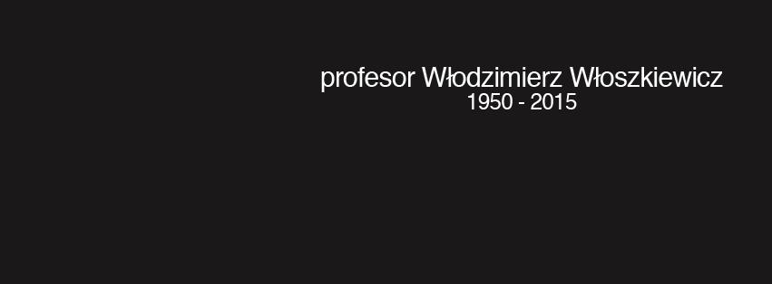 Zmarł Profesor Włoszkiewicz
