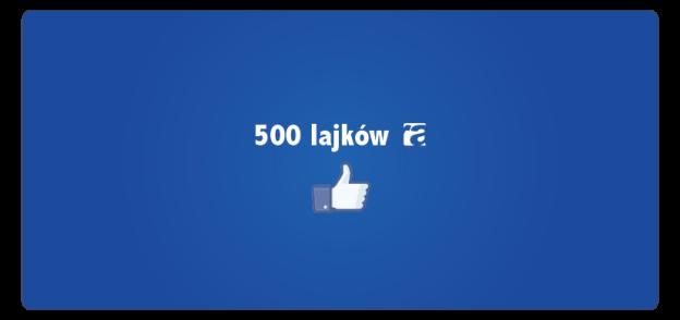 500 lajków ra na facebook'u!