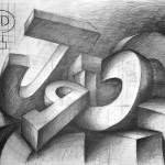 litery_praca wykonana podczas kuru rysunku