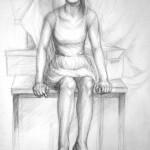postać_praca wykonana podczas kuru rysunku