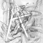 nauka rysowania - praca wykonana przez uczestnika Kursu Rysunku i Malarstwa