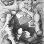 szachy_praca wykonana podczas kursu rysunku