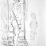 postać_praca wykonana podczas kursu rysunku