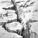 żywioły_praca wykonana podczas kursu rysunku