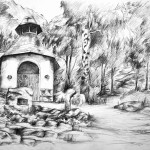architektura_praca wykonana podczas kursu rysunku