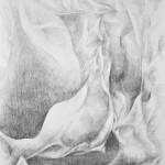 ogień - praca wykonana przez uczestnika Rocznego Kursu Rysunku
