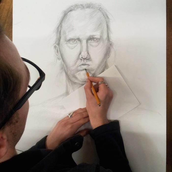 Portret - Kurs Rysunku w RysunekArchitektura