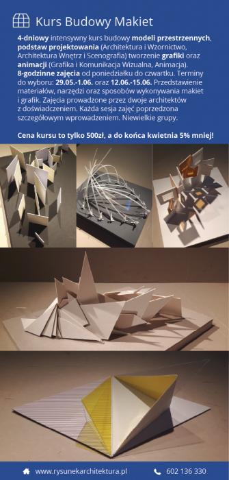 Intensywny Kurs Budowy Makiet/Grafiki