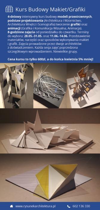 Kurs Budowy Makiet/Grafiki