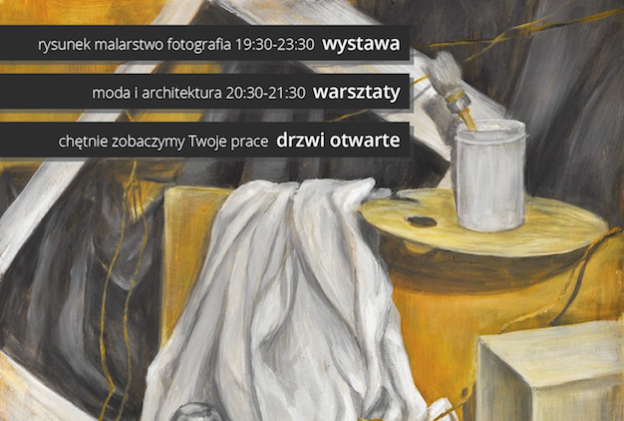 Noc Muzeów 2018 w RA / Rysunek Malarstwo Fotografia / Warsztaty
