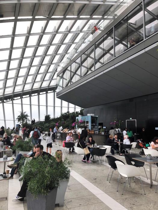 20 Fenchurch Street Sky Garden, Londyn, Rafael Viñoly Architects, 2015