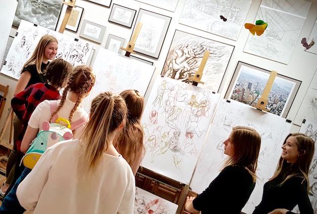Kurs rysunku i malarstwa RA – kilka ostatnich miejsc w grupach! Dołącz do nas ;)