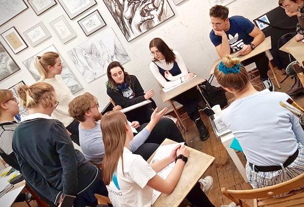 Kurs Rysunku – NOWA GRUPA od stycznia w RA! Ostatnia szansa na regularną naukę rysunku w naszej Szkole Rysunku!
