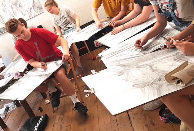 REKRUTACJA RA 2020/2021 – nauka rysowania Poznań – dołącz na regularny kurs rysunku i malarstwa od września!