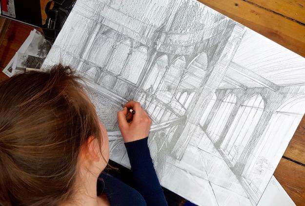 Kurs Rysunku – nowa grupa od 5 marca w RA! Rozpocznij regularną naukę rysunku w szkoła rysunku i malarstwa RysunekArchitektura!