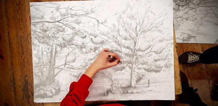 Intensywne kursy rysunku i malarstwa