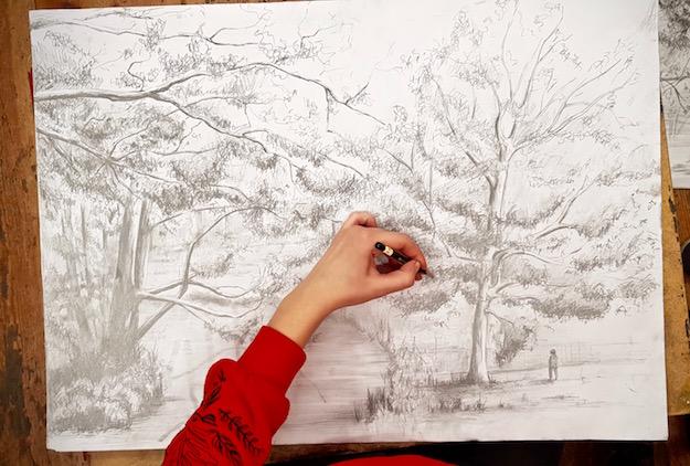 Intensywny Kurs Rysunku i Malarstwa RA – aż 64 godziny intensywnych lekcji rysunku i malarstwa + 24 godziny Otwartej Pracowni. Zaczynamy 17 maja!