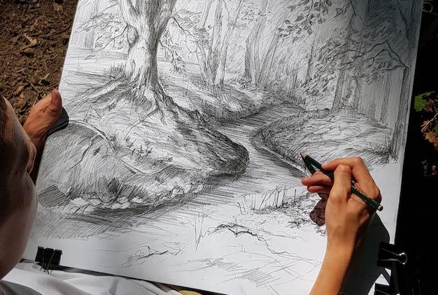 Wakacyjne warsztaty malarskie i plener rysunkowy w sierpniu w RA! Przygotowaliśmy dla Ciebie wyjątkową ofertę wakacyjnych kursów rysunku i malarstwa – sprawdź! :)